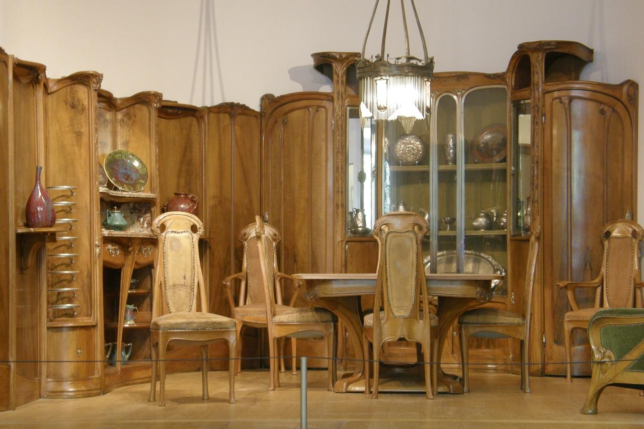 Guimard l exposition paris 1900 au petit palais le for Meuble salle a manger 1900