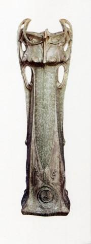 Vase des Binelles. Grès émaillé avec cristallisations. Coll. Cité de la céramique – Sèvres. Photo coll. part.