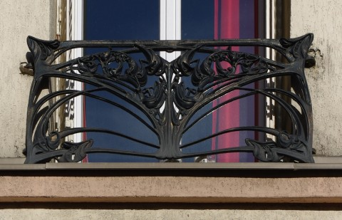 Balcon de croisée GA, Vincennes. Photo coll. part.