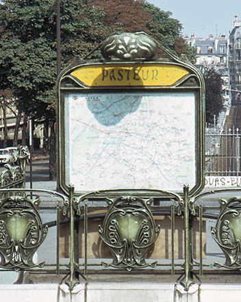 Station Pasteur, avant restauration. Photo coll. part.