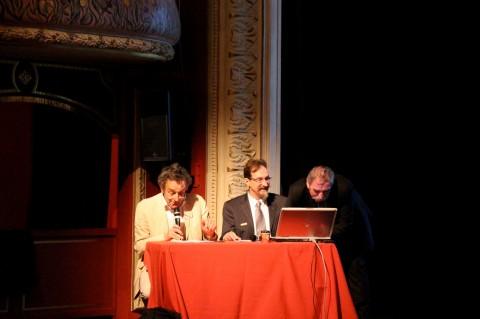 colloque St-Dizier 2014 - De gauche à droite : François Chaslin, Frédéric Descouturelle, Dominique Perchet.