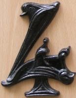 Guimard fonte Saint-Dizier chiffre 4